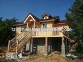 Maison en bois; chalet; maison préfabriquée; log cabin