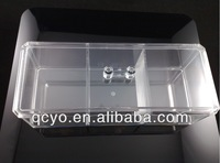 3 pcs dividers acrylic jewelry display cabinet in china free combination