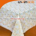 espuma de pvc revestido de vinil laço toalha de mesa decorativos restaurante tabela cobrir