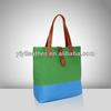 V561-Bolsos de cuero, tote bag women, blue leather handbag bag