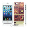Colorful design for iphone 5 abs cover plain printing cell case