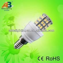 3w dimmable led spotlight 12v dc 3528-48smd led bulb 240lm led e14 360 degree