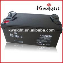 Outdoor solar battery 12v chargeur de jel batterie 200Ah