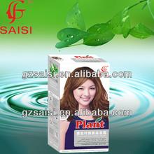 SAISI professional permanent the black magic combs hair dye