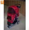 Dog Stroller Extra Wide Blue 3 Wheels Pet Dog Cat Stroller Navy Blue