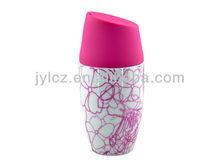 ceramic coffee mug with shapes