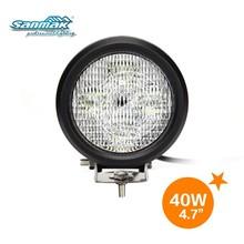 High quality 3500 lumen waterproof 40w round led off road spotlights