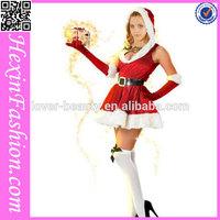 NO MOQ Hot Sale Red Christmas Wedding Dresses