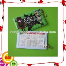 high quality hard pvc card holder/soft pvc card holder