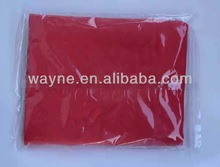 red PVA towel ,synthetic chamois cleaning cloth.car wash tool.