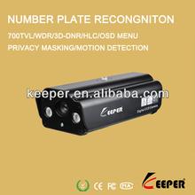 "Licence Plate Recongnition Waterproof 1/3"" SONY 700TVL Car CCTV Camera"