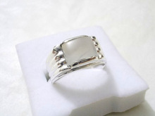 Dur e Najaf Ring( Moonstone ) for Wedding Engagement And Gift in 925 Sterling Silver