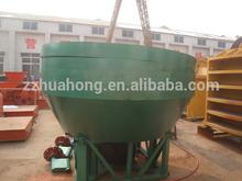 Wet pan mill gold grinder sold to Saudi Arabia