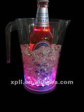 Beautiful flashing hot selling led pitcher