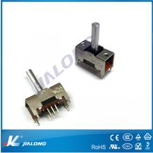 2 position toggle switch TS-22e01 2P2T 0.5A 50V DC