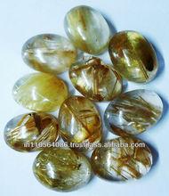 10x14 oval cabochon golden rutile