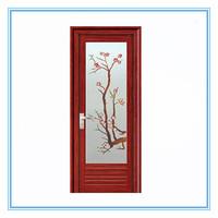 latest designed aluminium frosted glass sliding closet doors