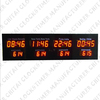 Electronic World Clock with Month and Day Digital World Clock