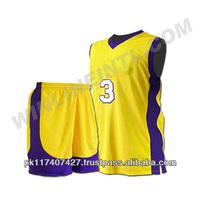 Ropa de baloncesto para hombres/sublimada los uniformes del baloncesto