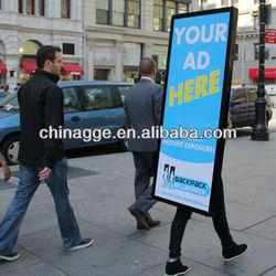 LED Portable Backpack Walking Billboard, Mobile Walking Billboard