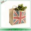 Union Jack hessian bags online jute shopping