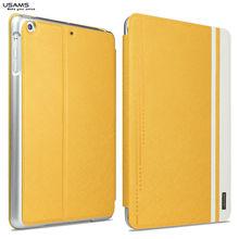 fashion gold color cover case for ipad mini retina USAMS Jazz series