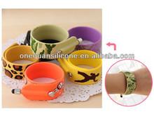 China Factory Silicone Slap bracelet mini touch pen,tablet pen touch