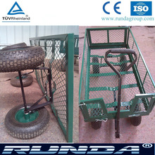 Four wheel wagon cart,garden trolley,utility garden cart