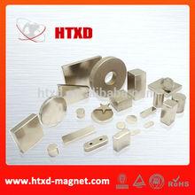 High Performance Sintered Neodymium Magnet pole magnet
