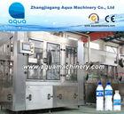 Plastic PET Bottle Water Packing Machine / Aqua Packing Plant