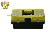 Plastic tool box with combination locks
