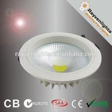 CE RoHs 20W 8 inch led retrofit recessed downlight