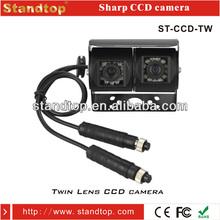 automotive backup anti-shock multi view camera