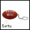 promotional foam rugby stress ball keychain