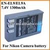 Hotsales power tool batteries cheap for nikon EN-EL9
