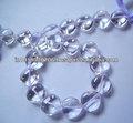 naturale cristallo di quarzo cuore smoot caldo perline briolettes