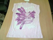 Ladies S S Printed T Shirt