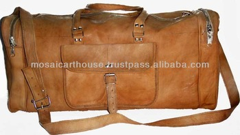 Genuine Leather Duffel Bags and Travel Bags Available in any Quantity