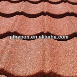 colorful stone coated metal roofing tiles from China