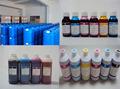 Compatível com corante ou pigmento ou eco- a granel de solventes de tinta recarregáveis para canon ipf8000s pfi-701