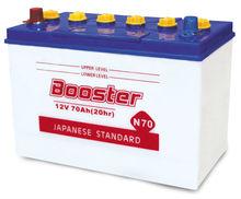 Storage car battery lead-acid battery 12V 70AH N70