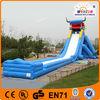 EN14960 warmly welcomed inflatable dragon slide toys