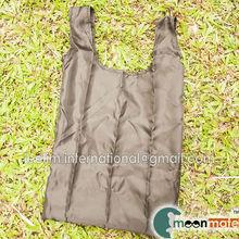 foldable nylon drawstring bag with small pouch tote bag gift bag