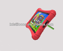 Drop resistance 7' children learn silicone tablet PC case with stand
