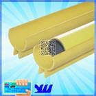 JY-2084 China PVC yellow half-pipe Jacket pipe&joint parts