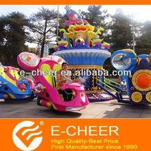 Amusement children rides family outdoor games
