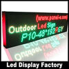 LANPAI Factory price P10 RG double color multi-line led moving signs