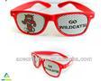 Werbung werbe-sonnenbrille mit abnehmbaren pinhole aufkleber