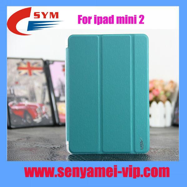 leather case for ipad mini 2 cover case, For ipad mini2 stand case