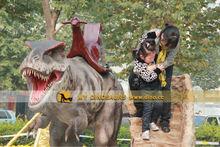 MY Dino-Kid theme park rides walking animal dinosaur kiddie ride